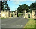 NZ1322 : North Lodge entrance to Raby Castle by James Denham