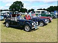 SP0902 : Classic cars, Fairford Steam Rally, Quarry Farm, Poulton, Gloucestershire by Brian Robert Marshall