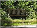 TM3189 : Seat on Pheasants Walk by Geographer