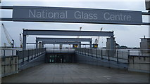 NZ4057 : Entrance to the National Glass Centre in Sunderland by Jeremy Bolwell