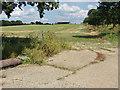 SU8772 : Footpath near Warfield by Alan Hunt
