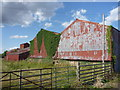 NT4970 : Rural East Lothian : Farm Sheds At Begbie by Richard West