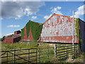 NT4970 : Rural East Lothian : Farm Sheds At Begbie by Richard West