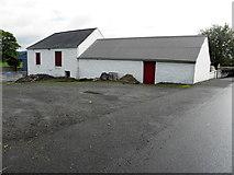 H4277 : Old farm buildings, Tattraconnaghy by Kenneth  Allen