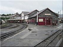 SH5738 : Porthmadog railway station, Gwynedd by Nigel Thompson