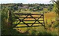 SD9604 : Five-barred gate near Lawton Fold. by Michael Fox