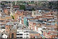 SO8554 : The rooftops of Worcester by Philip Halling
