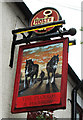 SO8983 : The Plough & Harrow (2) - sign, 107 Worcester Street, Stourbridge by P L Chadwick