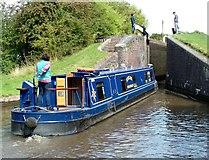 SO9969 : Tardebigge Top Lock on the Worcester & Birmingham Canal by Peter Evans