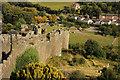 SH7777 : Conwy Town Walls by Richard Croft