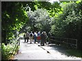 SP3075 : Light bridge over the Canley Brook, University of Warwick campus, Coventry by Robin Stott