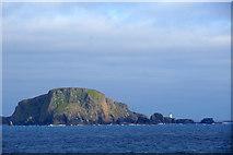 HZ1970 : Malcolm's Head, Fair Isle, from the sea by Mike Pennington