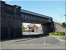 TQ2469 : Railway bridge 5 SMS2 by Robin Webster