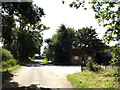TM0835 : Putticks Lane, East Bergholt by Adrian Cable