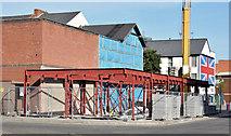 "J3473 : The ""Ivy Bar"" redevelopment site, Belfast (August 2014) by Albert Bridge"