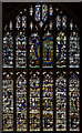 SO7745 : Magnificat Window, Great Malvern Priory by J.Hannan-Briggs