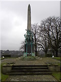 TQ3969 : Bromley War Memorial by Ashley Martin
