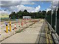 TL3168 : Fenstanton Dairy Crest site, entrance by Hugh Venables