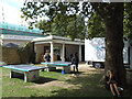 TQ3877 : Table tennis in the grounds of the Old Royal Naval College by Stephen Craven