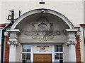 TQ1375 : Treaty Lodge Portico, 210 Hanworth Road, Hounslow by John S Turner