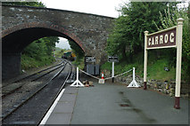 SJ1143 : Carrog Station by Stephen McKay