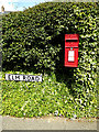 TM0635 : Elm Road Postbox by Adrian Cable