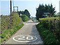 TQ2862 : Crossroads, Little Woodcote Estate by Robin Webster