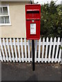 TM0734 : Burnt Oak Corner Postbox by Adrian Cable