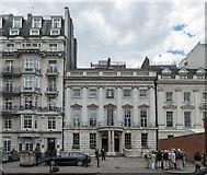 TQ3081 : 57/58 Lincolns Inn Fields, London WC1 by Christine Matthews