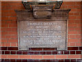 Photo of Charles Dickens plaque