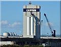 J3576 : Silos, Belfast harbour - August 2014(1) by Albert Bridge