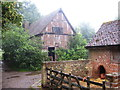 TL8647 : Pigsty and outbuilding, Kentwell Hall by Chris Holifield