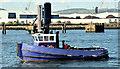 "J3575 : The ""Victoria"", Belfast (August 2014) by Albert Bridge"