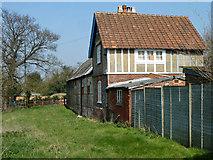 TQ2760 : Footpath by Oaks Farm by Robin Webster