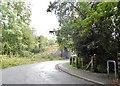 TQ0287 : Denham Lane by Denham Golf Club station by David Howard