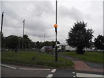 TQ0487 : Moorfield Road looking towards the A412, Denham by David Howard