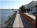NO4629 : Breakwater footpath by James Allan