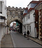 SU1429 : South side of North Gate, Salisbury by Jaggery