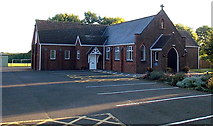 SK4003 : Our Lady & St Gregory's Catholic Church in Market Bosworth by Jaggery