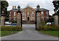 SK4003 : Ornate metalwork, Bosworth Hall Hotel, Market Bosworth by Jaggery