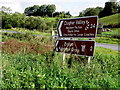 H6156 : Sign, Clogher Valley Valley by Kenneth  Allen