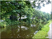 SD9625 : The Rochdale Canal at Height Wood by Graham Hogg
