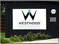 TL9637 : Lee Westwood Golf School sign by Adrian Cable