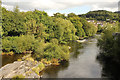 SJ2142 : River Dee by Richard Croft