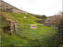 SH2734 : Covered Reservoir, Garnfadryn by Chris Andrews