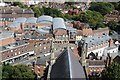 SO8554 : View over College Street by Philip Halling