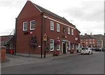SK4003 : HSBC in Market Bosworth by Jaggery