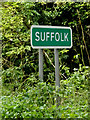 TM0433 : Suffolk County sign on Lower Street by Adrian Cable