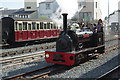 SH5738 : 'Hugh Napier' at Porthmadog Harbour Station by Stephen McKay