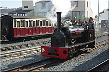 SH5738 : 'Hugh Napier' at Porthmadog Harbour Station by Stephen McKay